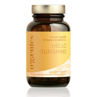 HELLO SUNSHINE PLANT-BASED VITAMIN D 60 CAPS