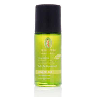 ROLL ON DEODORANT GINGER & LIME