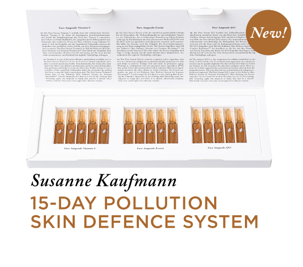 SUSANNE KAUFMANN 15-DAY POLLUTION SKIN DEFENCE SYSTEM